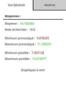 Notes Pronostics screenshot 1