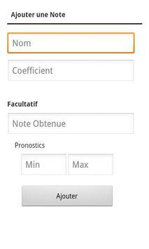 Notes Pronostics screenshot 4
