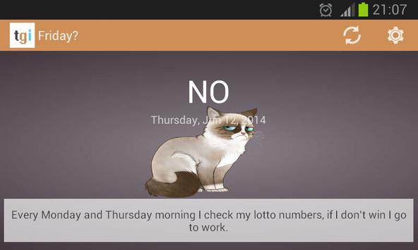 Friday? apk screenshot