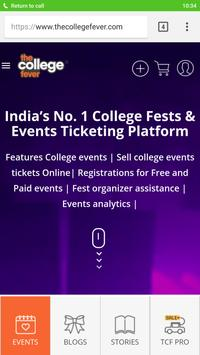 The College Fever - Buy / Sell Event Tickets screenshot 1