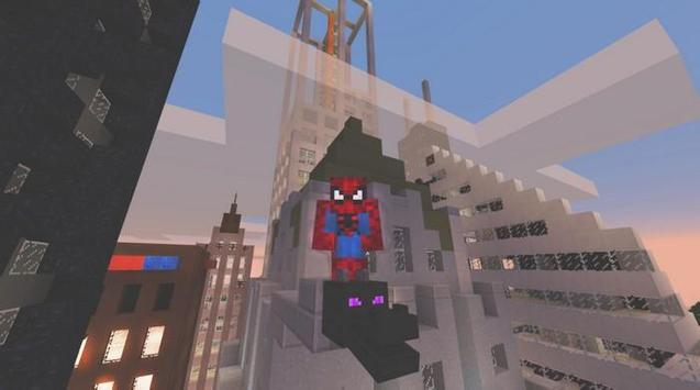 Mod Hero Spider for MCPE скриншот 1