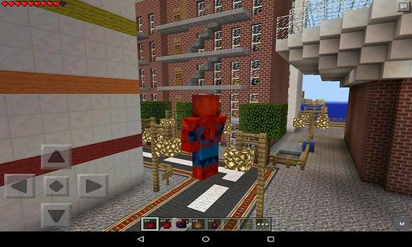 Mod Hero Spider for MCPE स्क्रीनशॉट 2