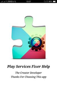 Services Error Fixer & Info poster