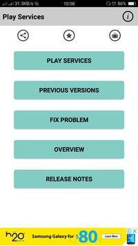 Services Error Fixer & Info screenshot 1