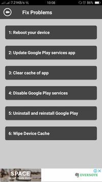 Services Error Fixer & Info screenshot 2