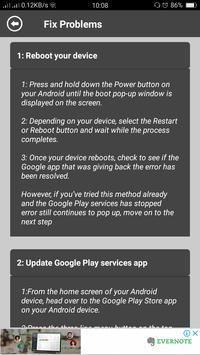 Services Error Fixer & Info screenshot 3