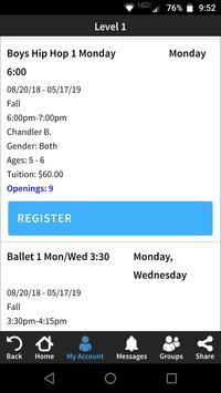 The Dance Centre screenshot 2
