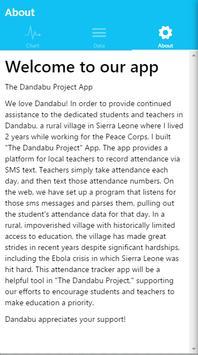 Dandabu Attendance Tracker apk screenshot