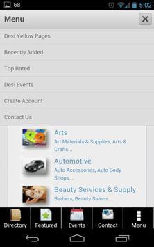 Desi Yellow Pages Desi Events apk screenshot