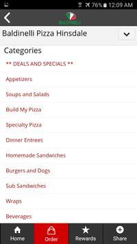 Baldinelli Pizza apk screenshot