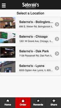 Salerno's Pizza screenshot 1