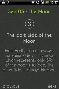Daily 5 Facts apk screenshot