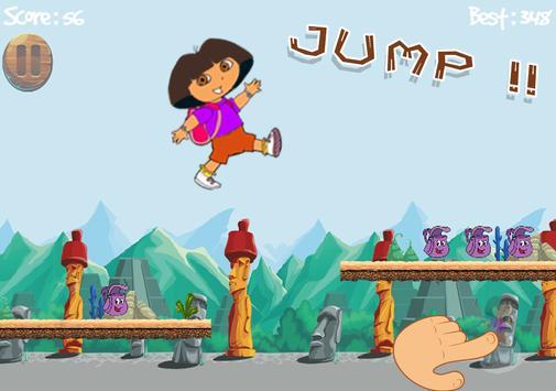 The Explorer Adventuer Dora Run screenshot 1