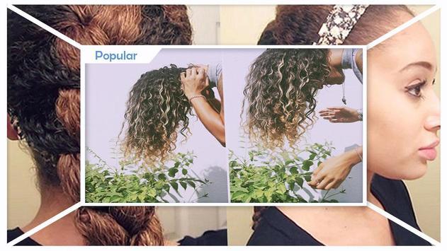 Bush curly hair tips screenshot 2