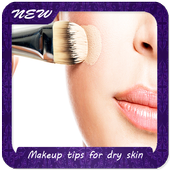 Makeup tips for dry skin icon