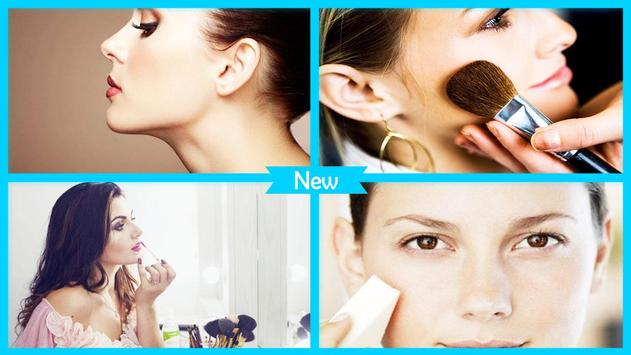 Makeup tips for dry skin poster