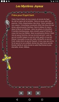 Le Rosaire Audio apk screenshot