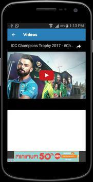 Champions Trophy 2017 Schedule apk screenshot