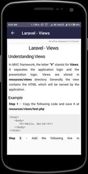 laravel - laravel tutorial - php framework screenshot 4