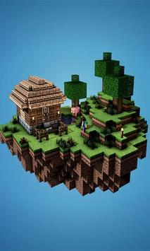 Skin Minecraft Live Wallpaper Apk Screenshot