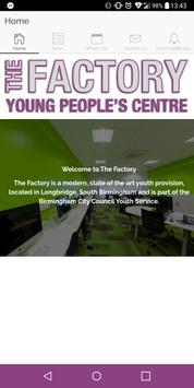 The Factory Young People's Centre poster