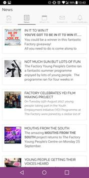The Factory Young People's Centre apk screenshot