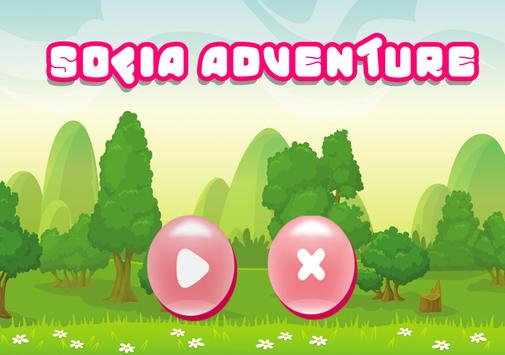 The First Adventure Of Sofia Run Game poster