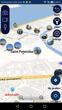St Petersburg tourist guide navigate offline map screenshot 4