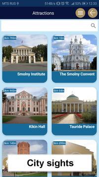 St Petersburg map guide offline tourist navigator screenshot 4