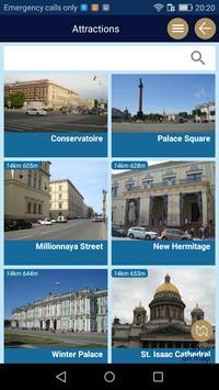 St Petersburg tourist guide navigate offline map screenshot 3