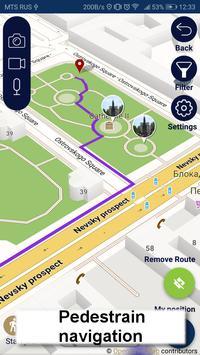 St Petersburg map guide offline tourist navigator screenshot 3