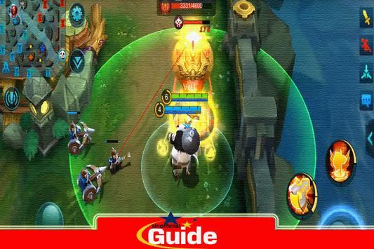 Guide Mobile game Legends screenshot 4