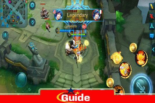 Guide Mobile game Legends screenshot 5