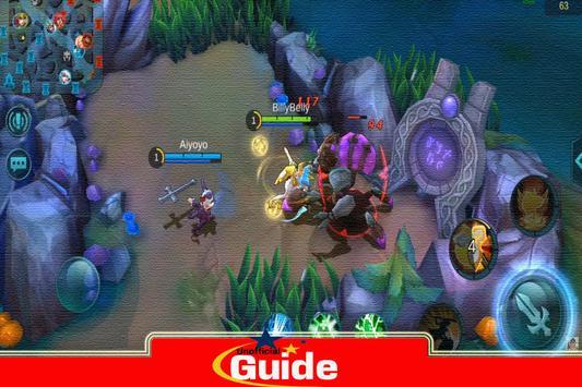Guide Mobile game Legends screenshot 3