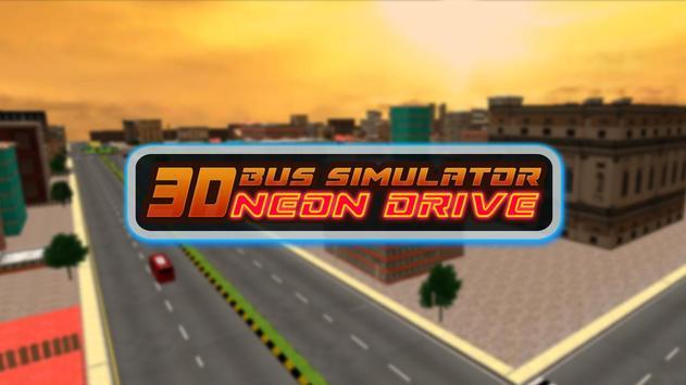 Bus Simulator Neon Drive poster
