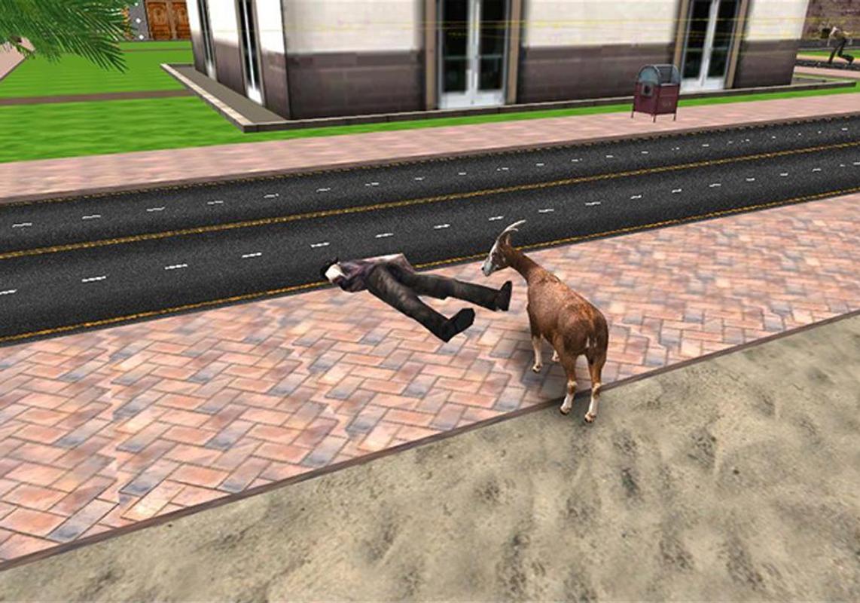 симулятор козла вторжение зомби