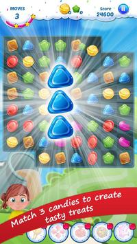 Gummy Candy - Match 3 Game poster