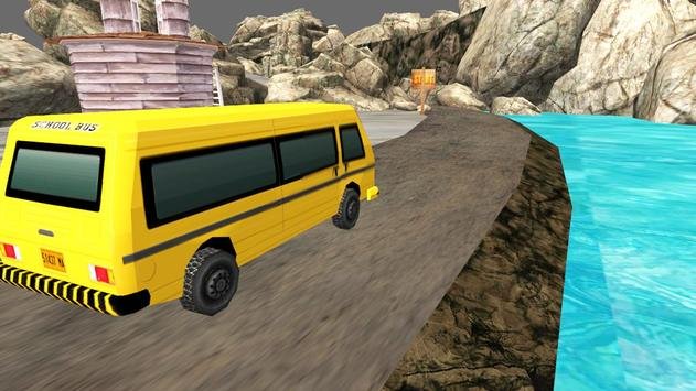 Hill School Bus apk screenshot