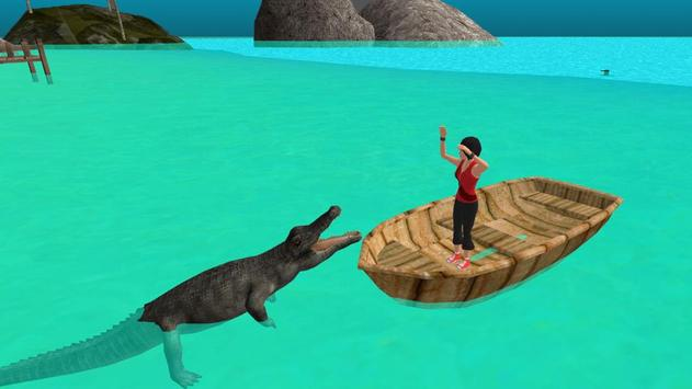 Hungry Crocodile Attack apk screenshot