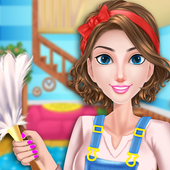 House Cleaning Games For Girls icon