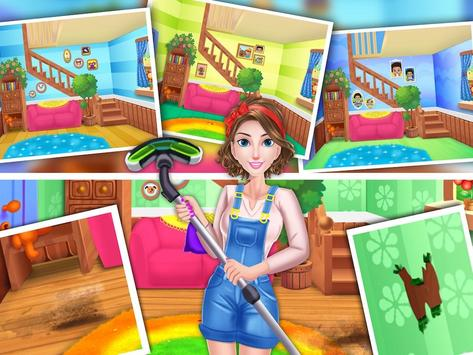 House Cleaning Games For Girls poster