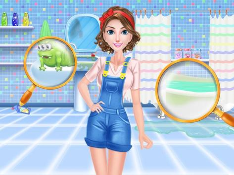 House Cleaning Games For Girls screenshot 9
