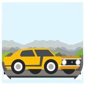 Real City Car Jump on Bridge icon