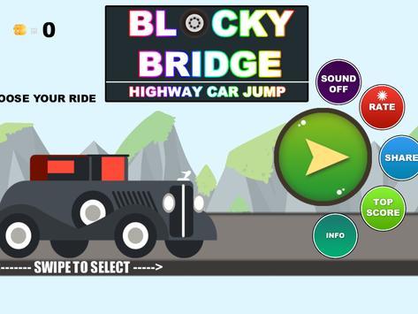 Real City Car Jump on Bridge screenshot 7