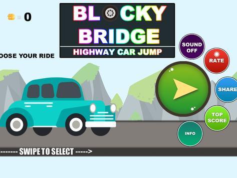 Real City Car Jump on Bridge screenshot 6