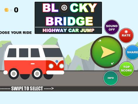 Real City Car Jump on Bridge screenshot 8
