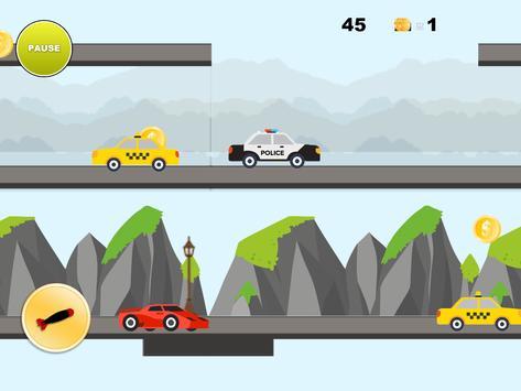 Real City Car Jump on Bridge screenshot 9