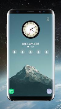 Galaxy S8 Lock Screen Clock >> Lock Screen Galaxy S8 Plus App For Android Apk Download