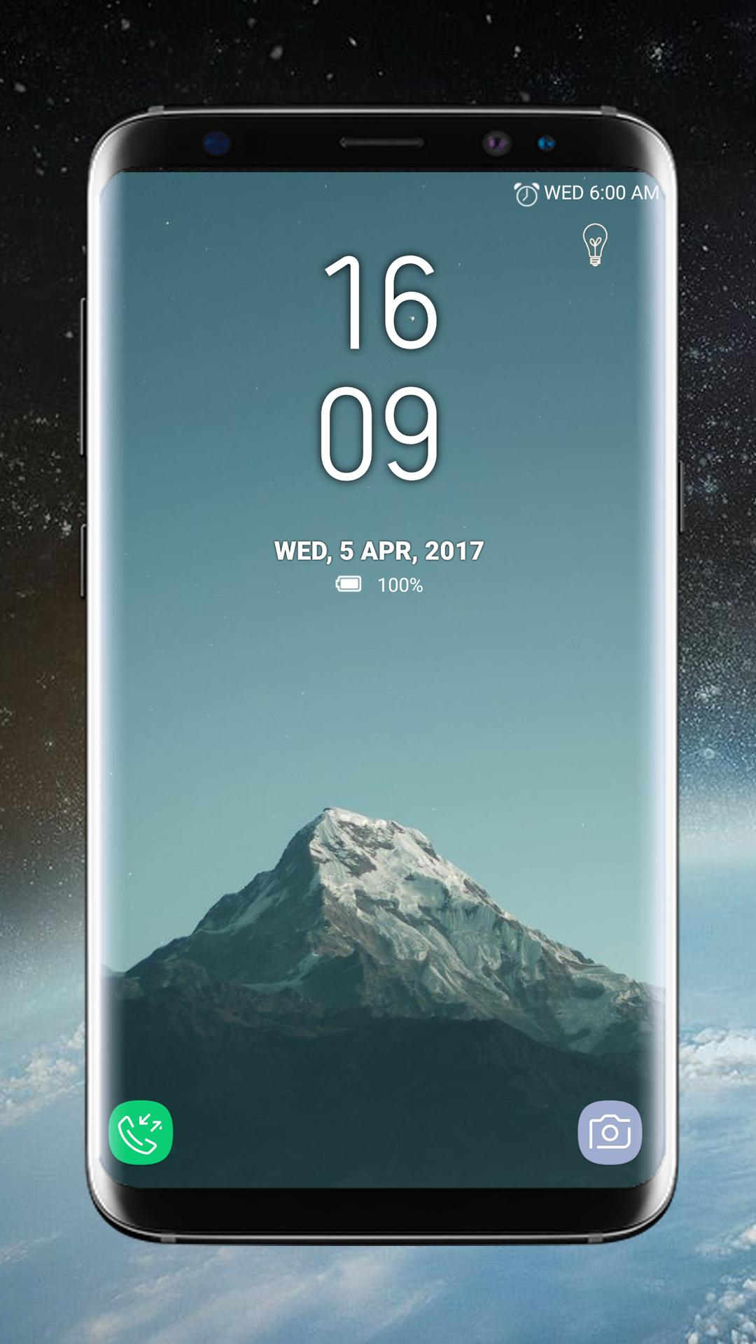 Lock Screen Galaxy S8 Plus App for Android - APK Download