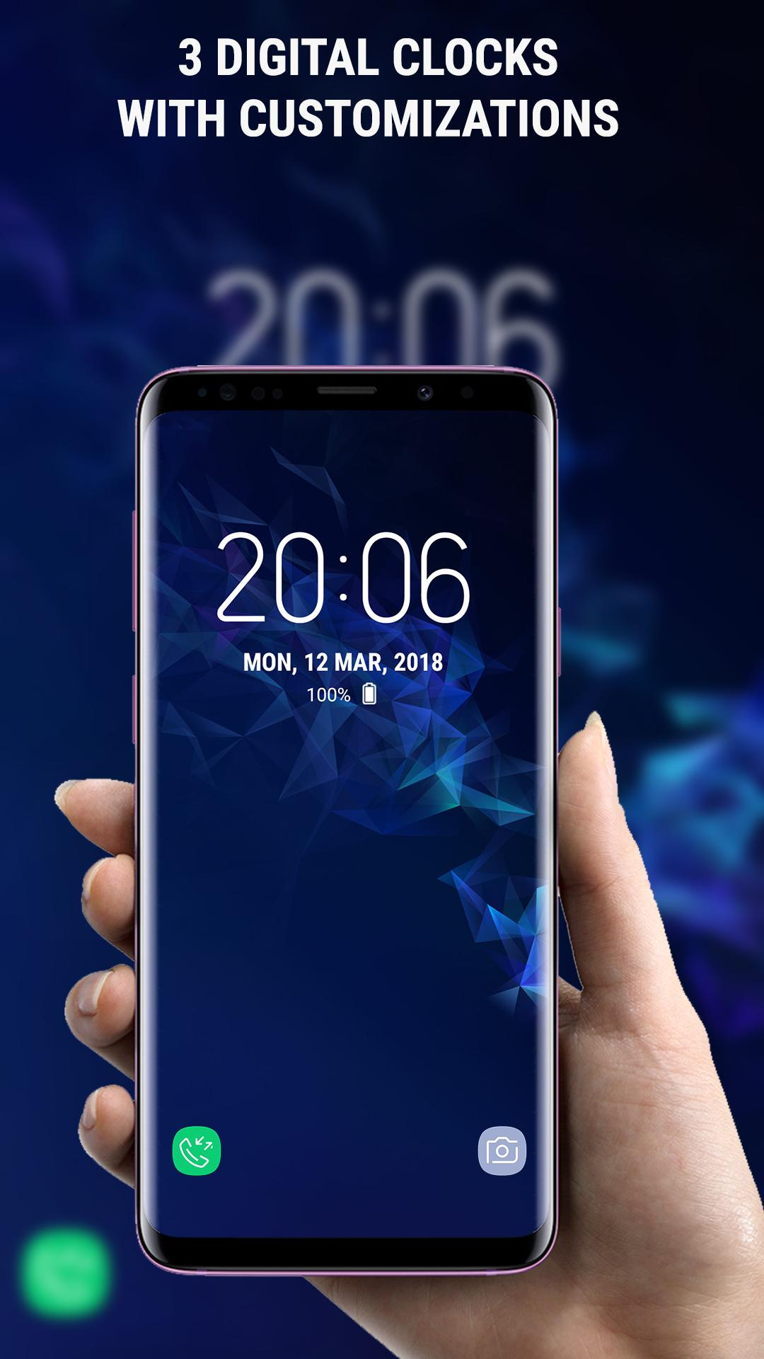 S9 LockScreen Galaxy S9 Plus App Theme for Android - APK Download